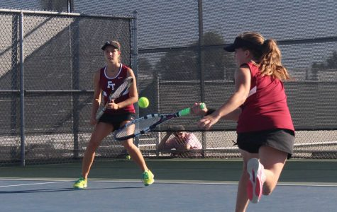 Girls' tennis tries new strategies in last home match