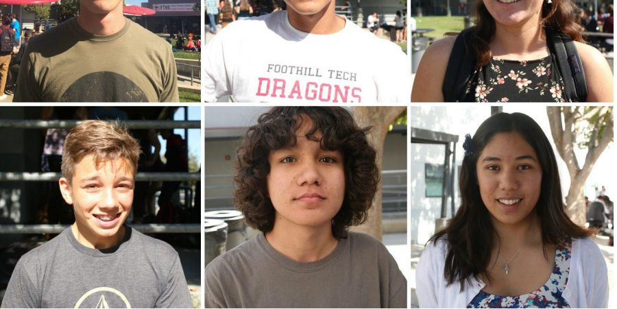 Foothill students respond to the presidential election results