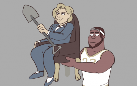 Illustration: Hilllary and LeBron