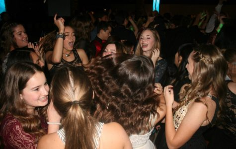 Smiles and sparkles abound at downtown Winter Formal