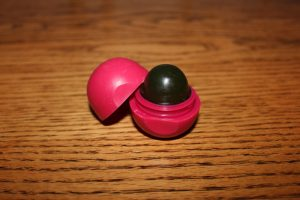 EOS lip balm containers are ideal for small soaps.