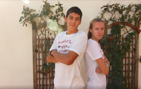 Jared Rodriguez and Lauren Kearney – leaders of state champions