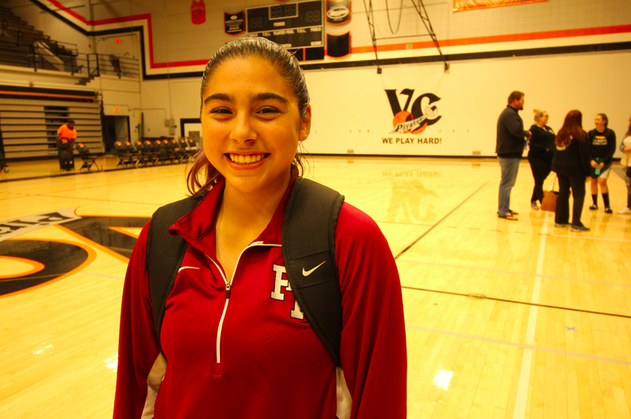 "For Cydnie Gutierrez, ""hard work pays off"""