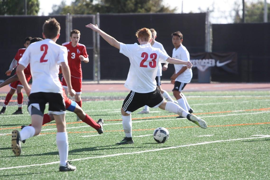 Boys soccer hammers Bishop Diego 6-0