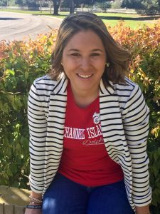 Sarah Rodriguez '04: helping create Foothill environment and mascot