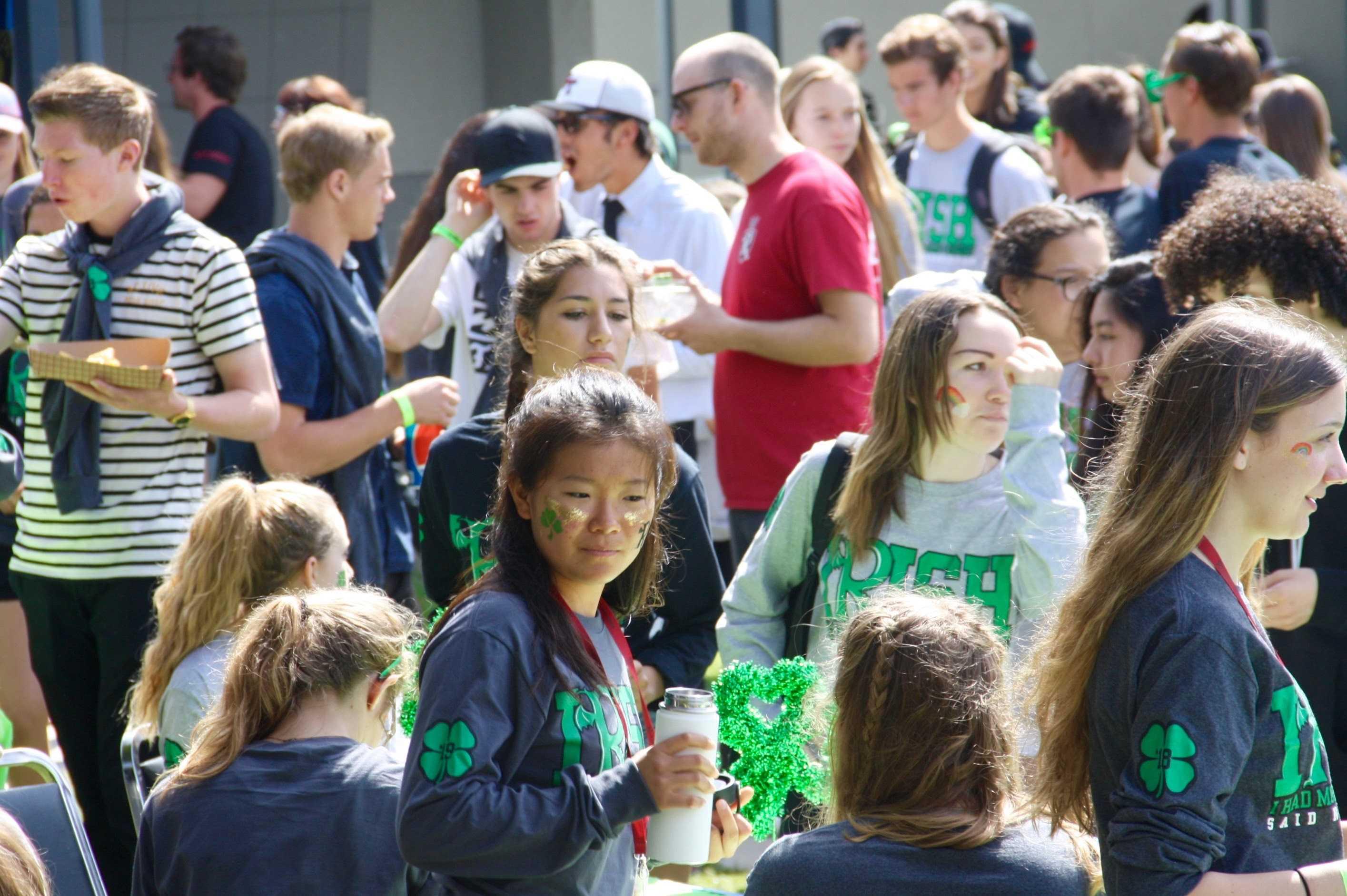 Sham-rocking Renaissance rally celebrates achievements of students