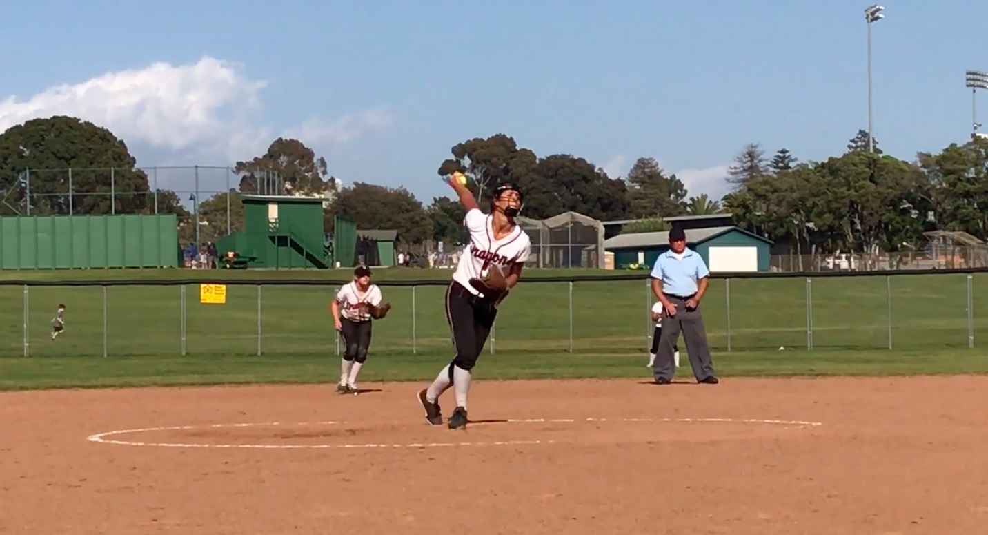 Video: Foothill softball suffers 8-1 loss to Santa Paula High School