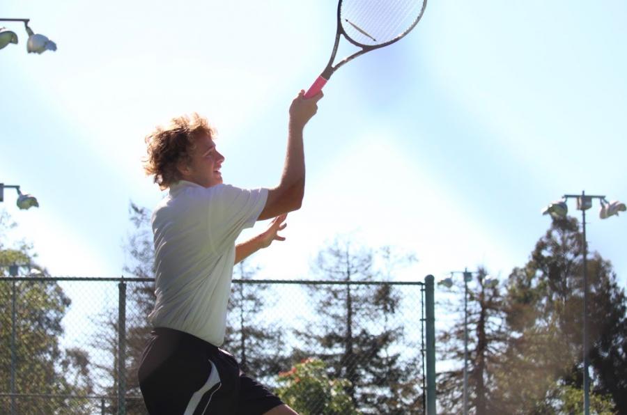 Boys%27+tennis+handles+Saint+Bonaventure%2C+wins+14-4