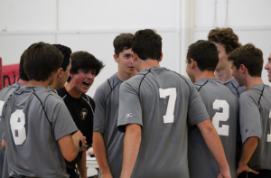 Boys' volleyball snags victory over vikings