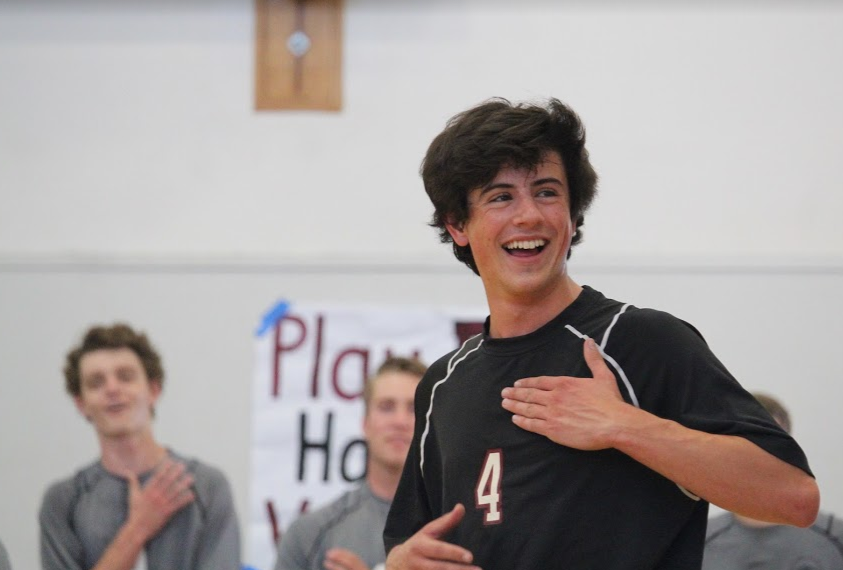 "Ian Overton: ""Crucial"" to the boys' volleyball team"