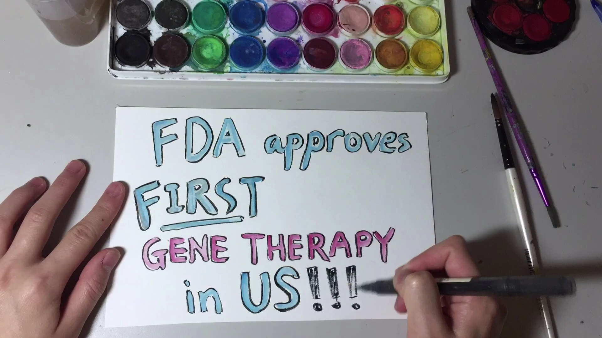 Recap with Rachel: First Gene Therapy Approved