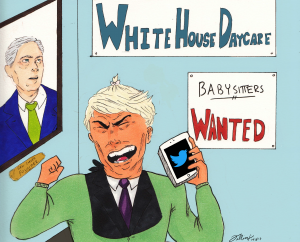 """Who's in charge of this political """"daycare""""?"""