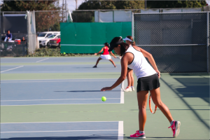 Foreign exchange student plays for Foothill's first tennis team