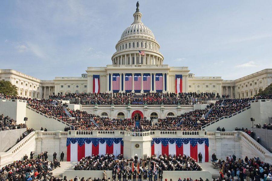The inauguration of President Donald Trump. Credit: U.S. Capitol