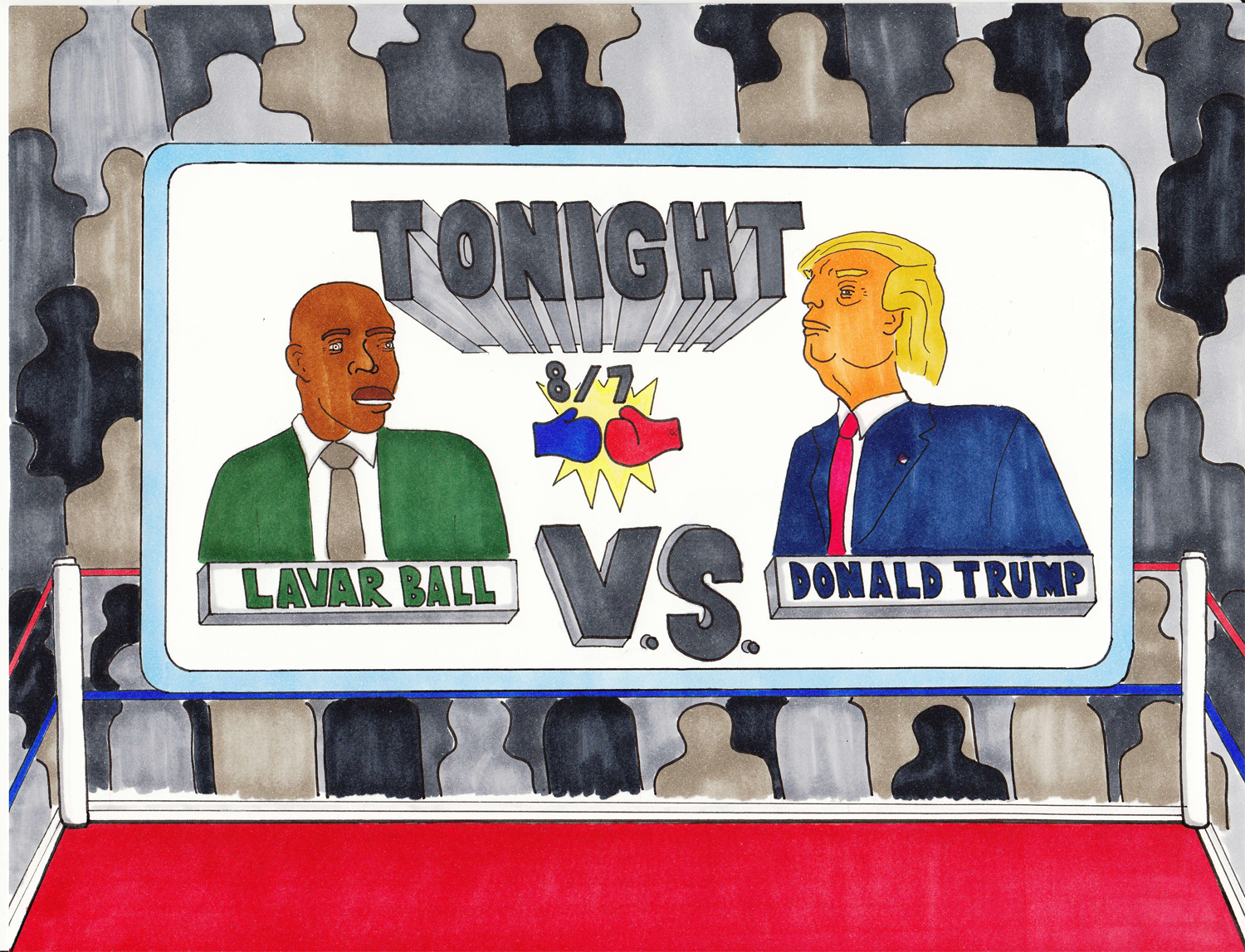 Accepting defeat is not in President Trump's and Lavar Ball's DNA