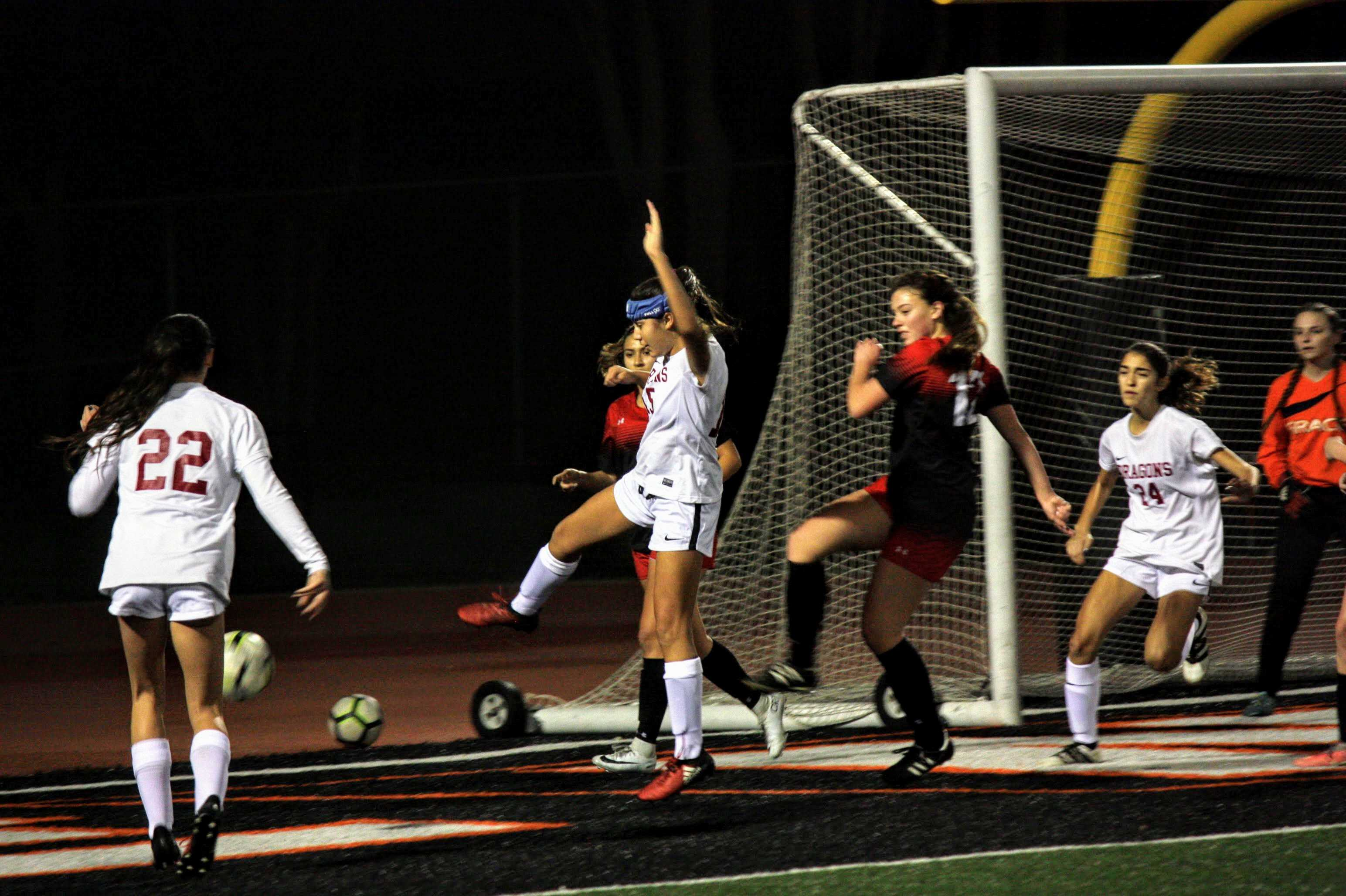 Girls' soccer beats Grace Brethren in first league game, 2-1