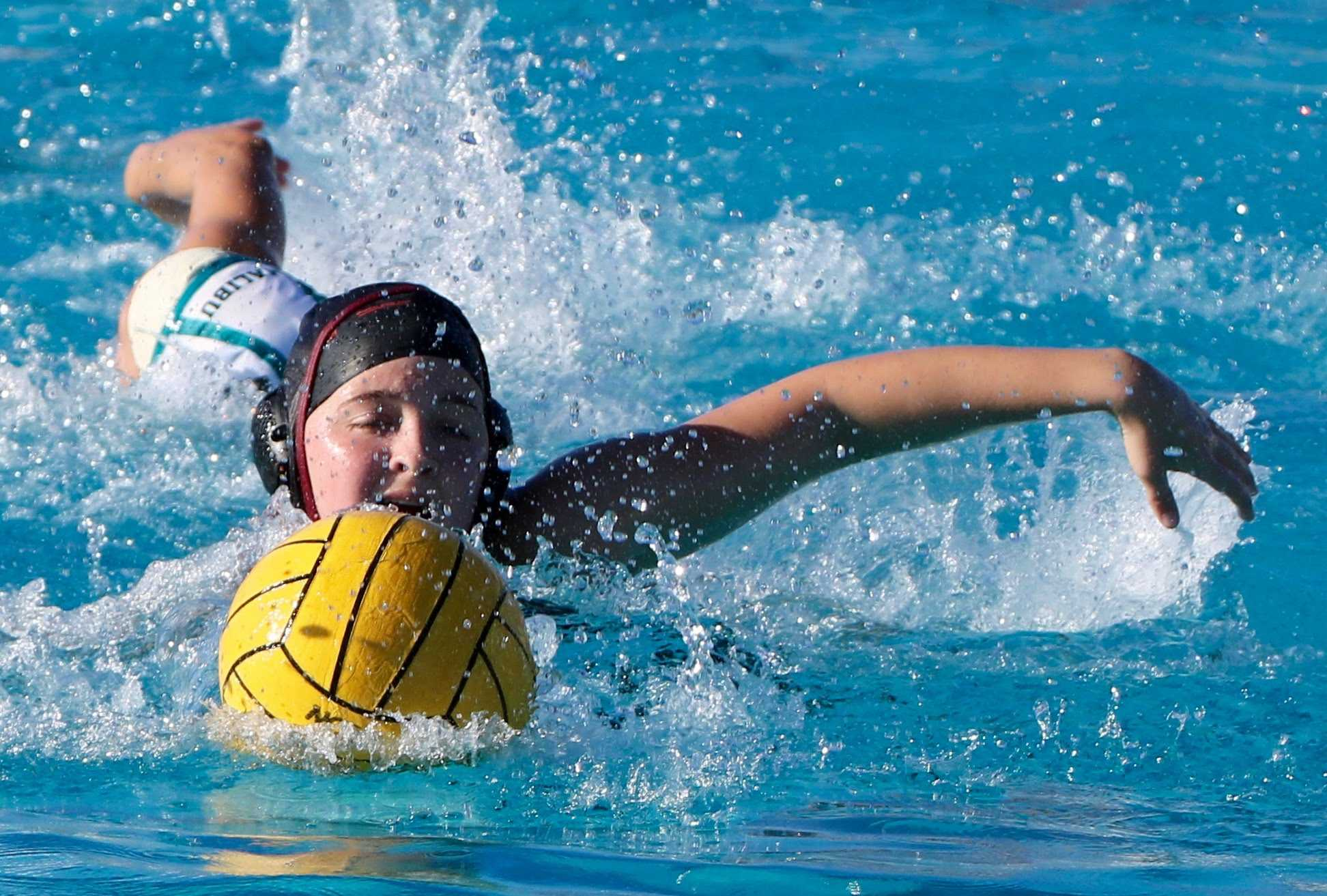 Girls' water polo records pivotal league win against Malibu, 8-6