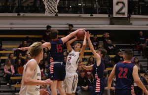 Boys', girls' basketball dominate first round of State tournament