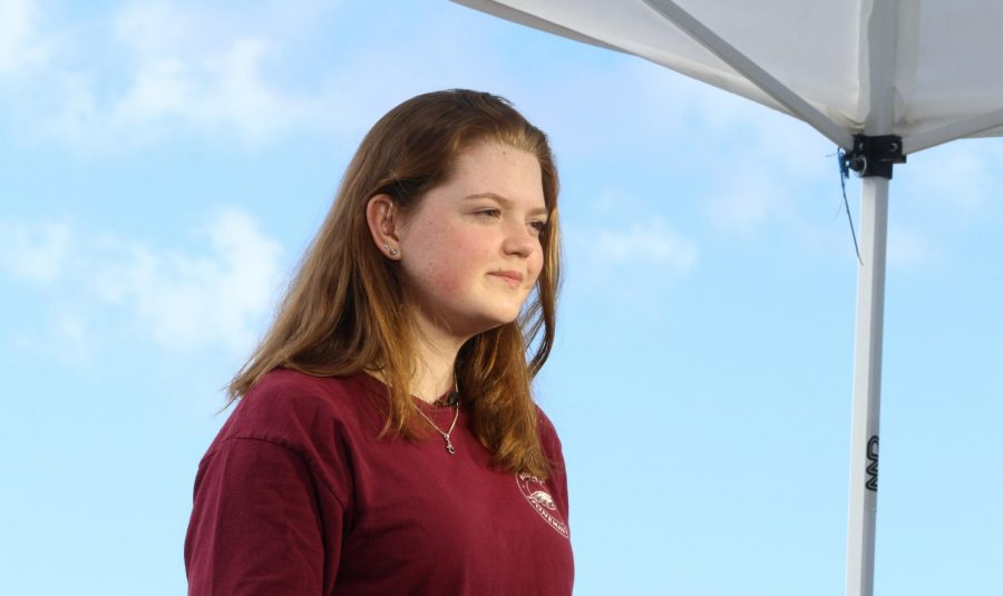 Photo of Aly Sheehy. Credit: Genevieve Martin of Stoneman Douglas (used with permission)