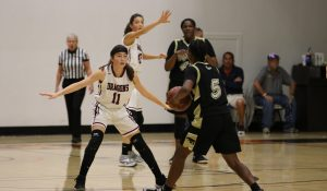 Girls' basketball coasts to win over Cardinals, 59-28