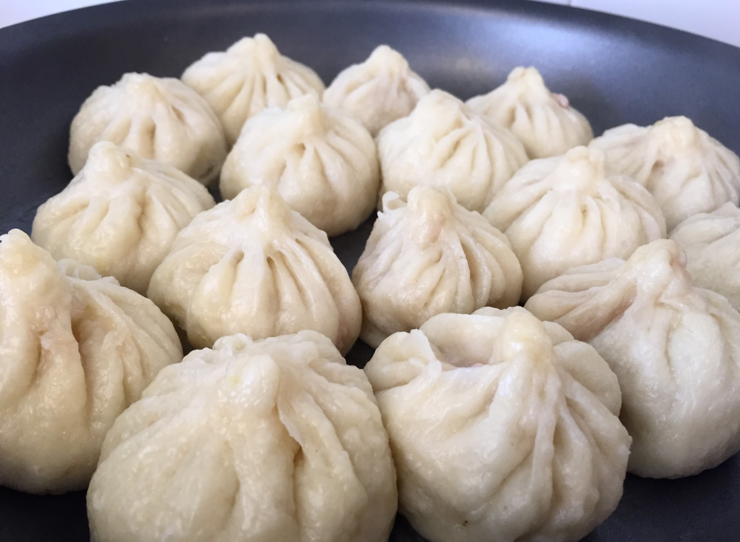 Baozi is a steamed bun with filling. Credit: Rachel Chang / The Foothill Dragon Press