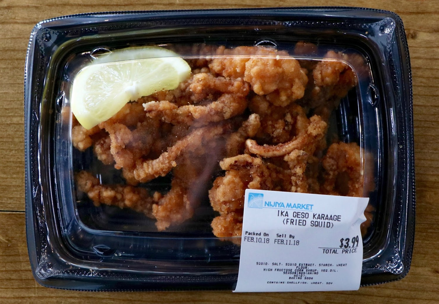 Karaage is a seasoned fried squid. Credit: Abigail Massar / The Foothill Dragon Press