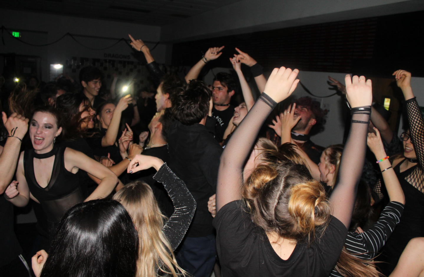 Students embrace their dark side at Blackout Dance