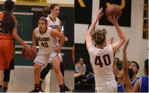 Senior Night success for girls' basketball, 65-46 over Lancers