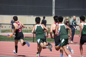 Track and Field dominates dual meet