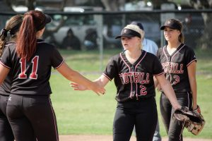 Girls' softball plagued by errors in 13-3 loss