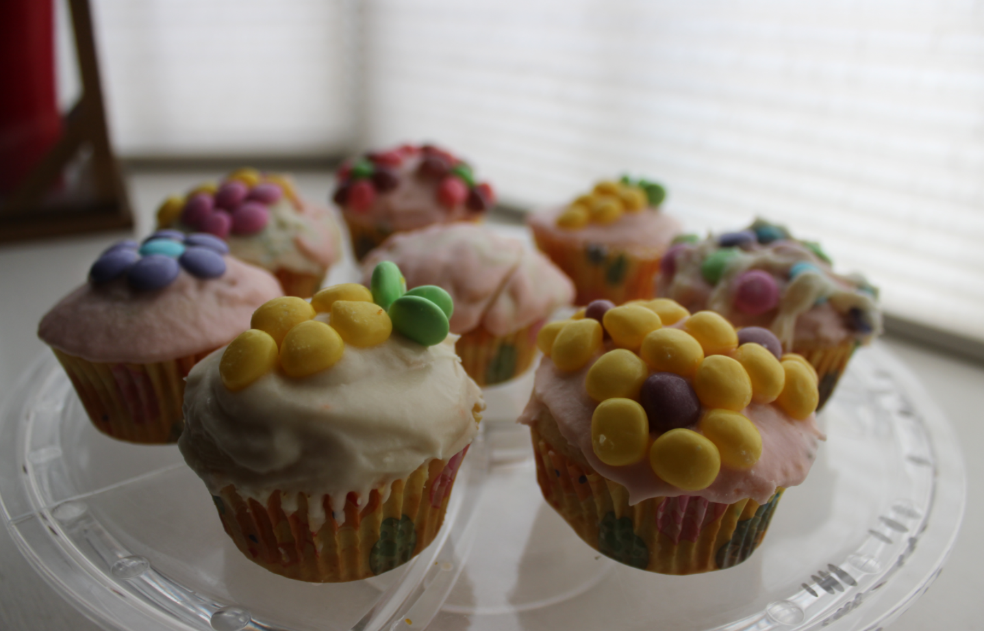 Fantastic Eats with Q and E: Springtime cupcakes