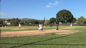 Clint Ellison takes a swing at coaching Foothill's baseball team