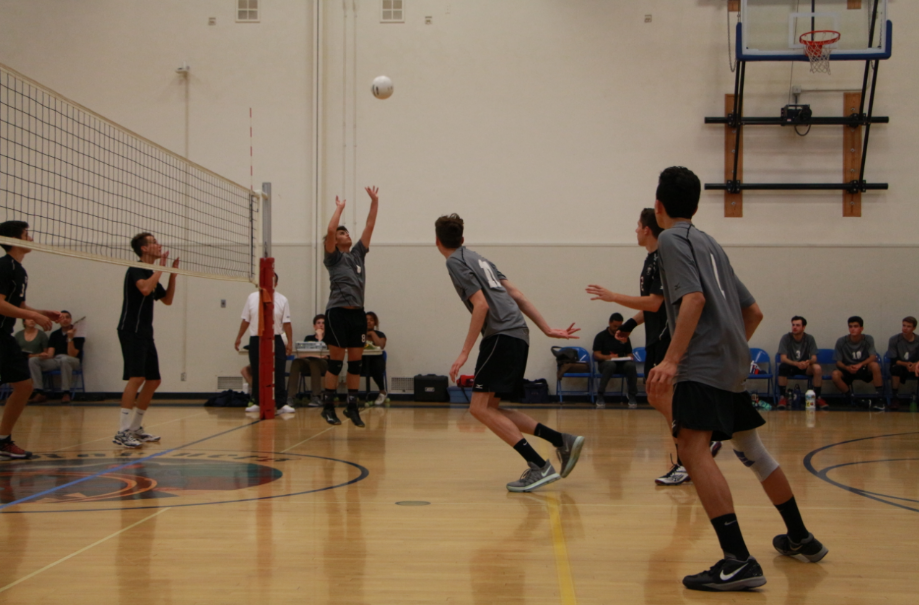 Senior night delight for boys' volleyball