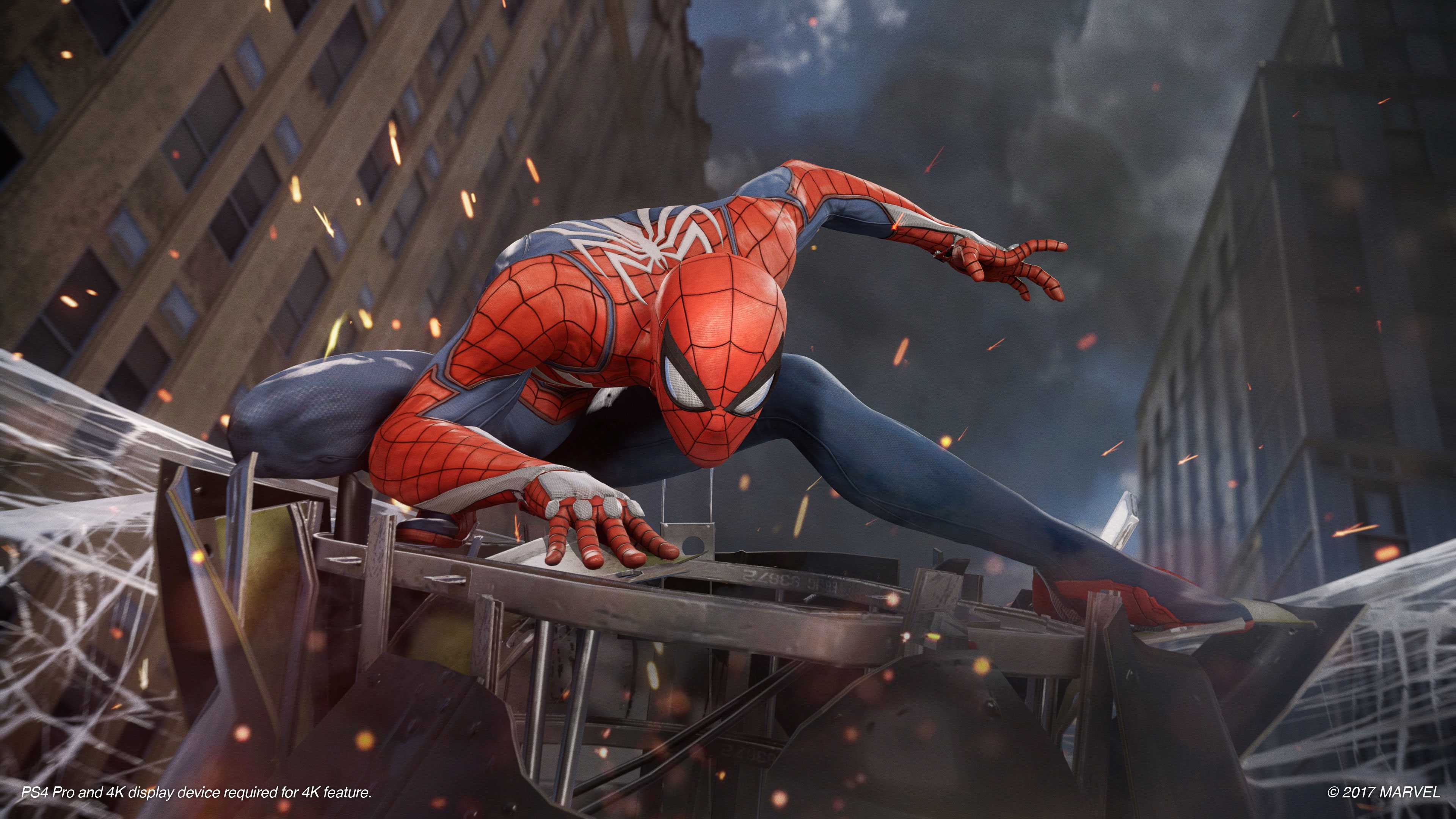 "Marvel's ""Spider-Man"" for PS4 swings higher than ever"