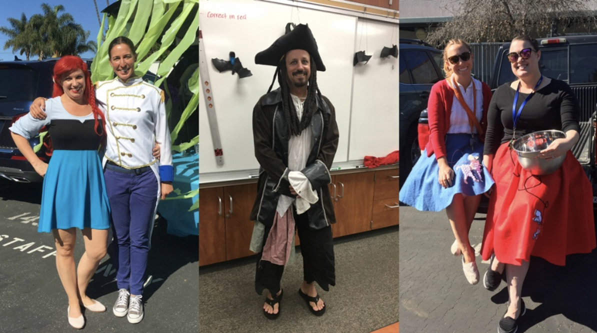 Foothill's campus celebrates Halloween in style