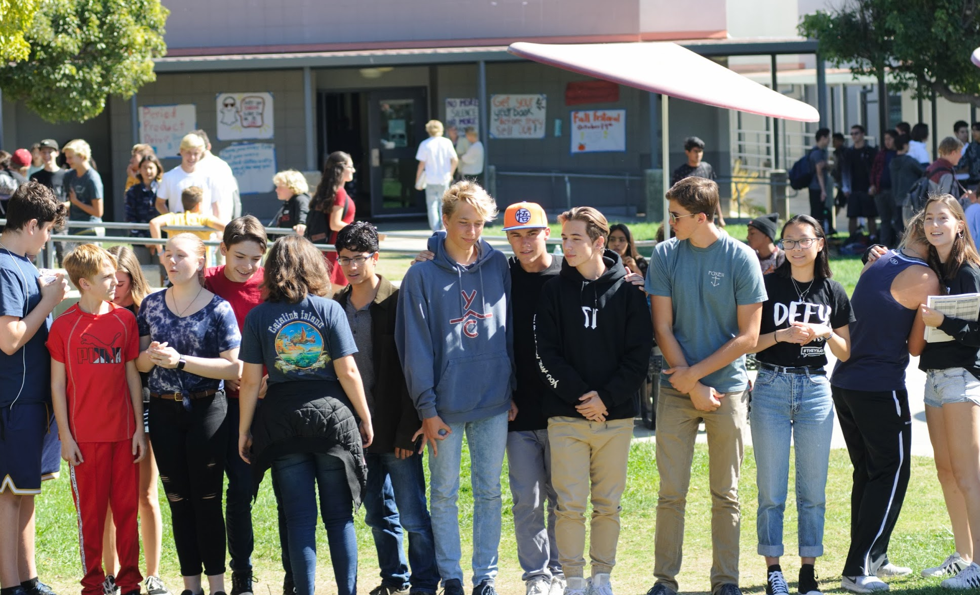 WE Club's Awareness Walk sheds light on student inequality
