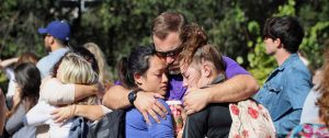 California Lutheran honors victims of the Borderline shooting in chapel service