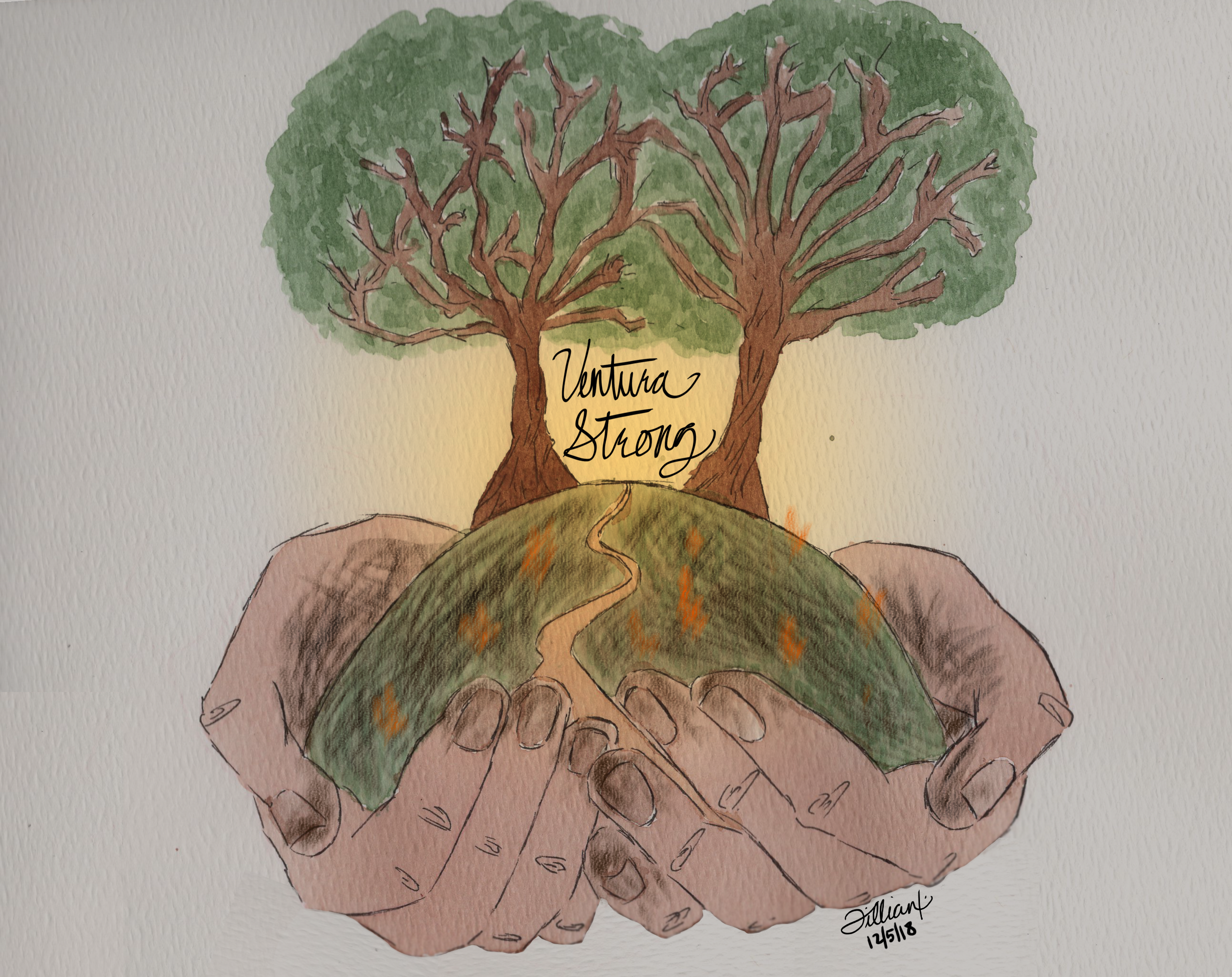 Ventura Strong - Two Trees Lives On