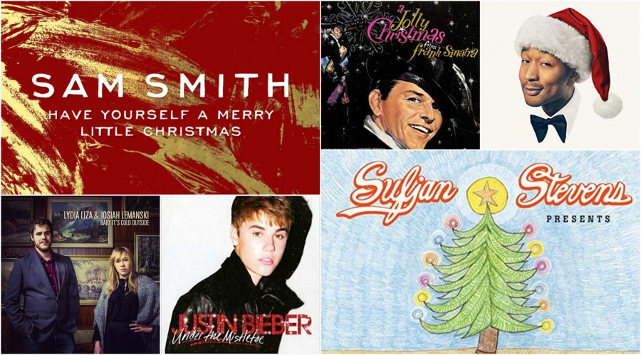 These+Christmas+albums+are+the+perfect+addition+to+any+holiday+celebration+or+winter+day.+Credit%3A+Various+artists