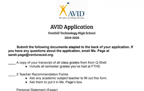 News Brief: AVID applications open for the 2019-20 school year