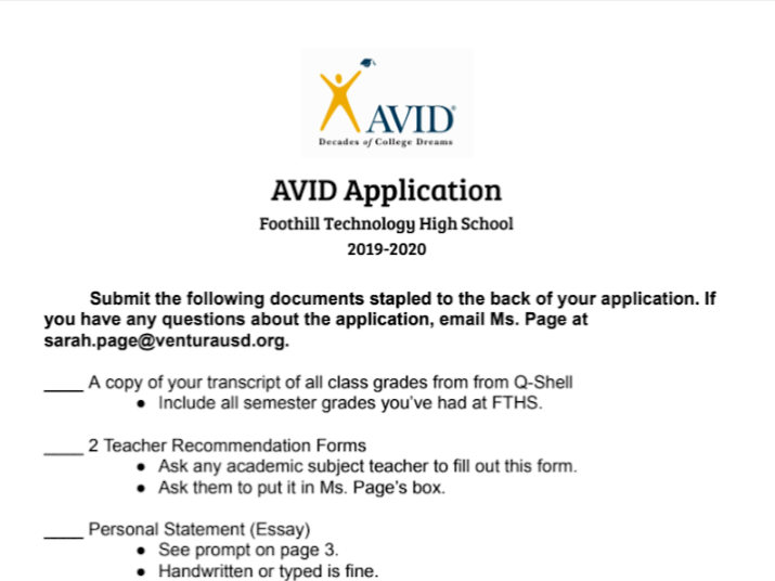 """AVID's target audience is helping those whose parents don't necessarily have the knowledge to help them get to college,"" AVID Advisor Sarah Page said."