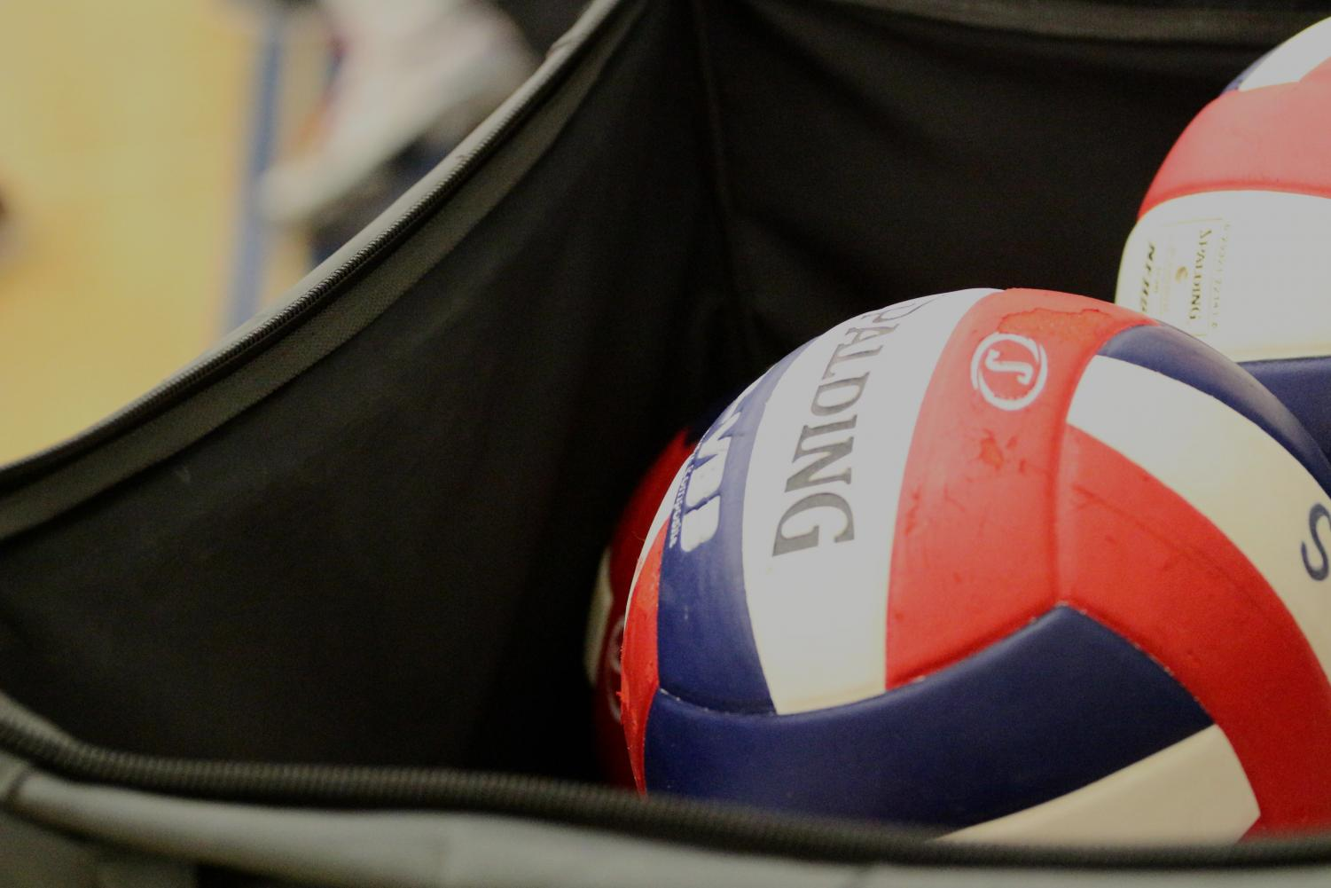 The boys' volleyball game was held in the gym of Cabrillo Middle School.