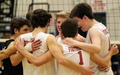 Boys' volleyball defeats Santa Clara in first home game