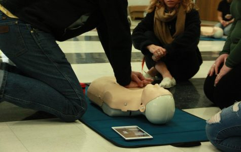 Foothill staff completes first-ever AED, CPR training