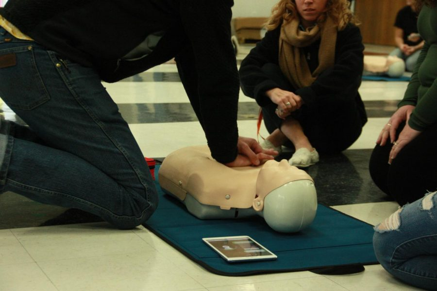 """The faster you can get your hands on starting, the faster you can call 911, the faster you can engage, the better the survival rate is for the person you are working with,"" Bioscience Academy Coordinator Mika Anderson said."