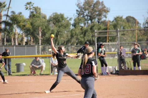 Girls' softball secures first league win versus Santa Clara