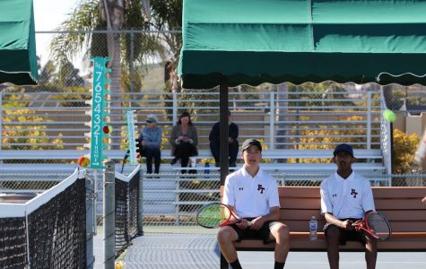 Boys' tennis crushes Bishop Diego 17-1