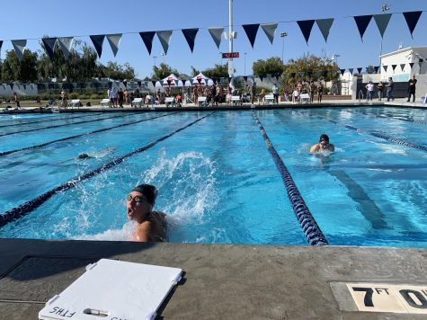 Foothill swim leaves St. Bonaventure drained after win in last home meet