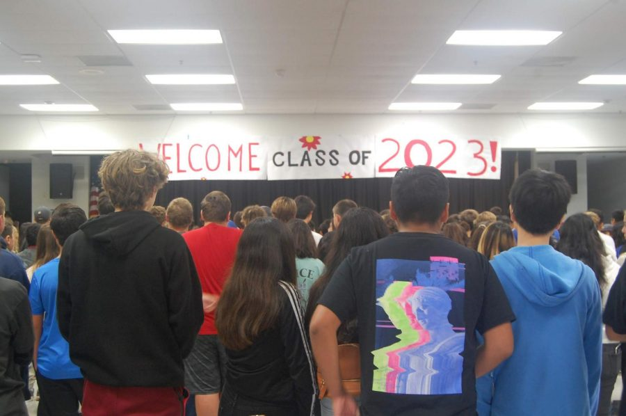 Incoming+freshmen+being+prepared+to+explore+Foothill+for+the+first+time