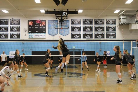 Girls' volleyball's comeback falls short in loss against Nordhoff